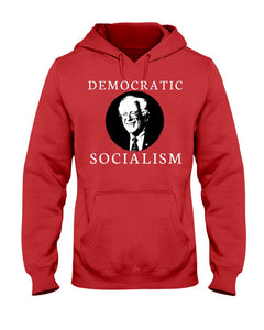 """Democratic Socialism"" Classic Fit Pullover Hooded Sweatshirt"