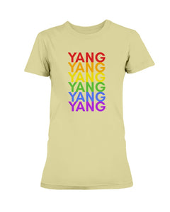 Yang PRIDE Fitted Short Sleeve T-Shirt
