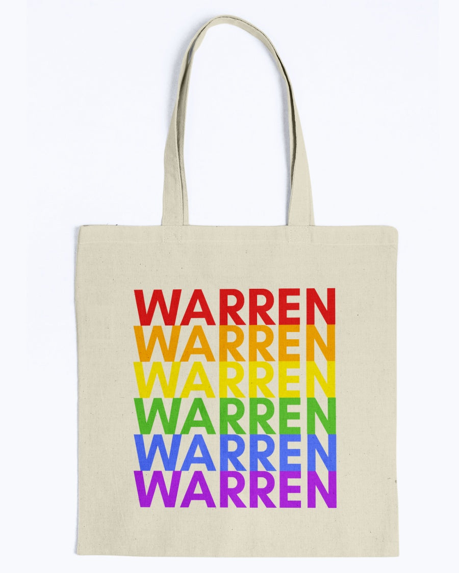 Warren PRIDE Canvas Tote