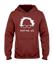 Load image into Gallery viewer, Not Bernie. Us. Classic Fit Pullover Hooded Sweatshirt-Sweatshirts-plussizefor