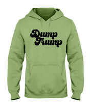 Load image into Gallery viewer, Dump Trump Classic Fit Pullover Hooded Sweatshirt