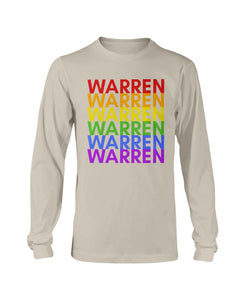 Warren PRIDE Classic Fit Long Sleeve T-Shirt