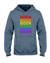 Load image into Gallery viewer, Biden PRIDE Classic Fit Pullover Hooded Sweatshirt
