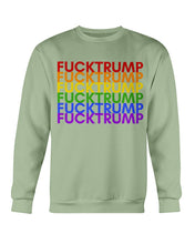 Load image into Gallery viewer, F*ck Trump PRIDE Crewneck Sweatshirt