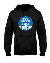 Load image into Gallery viewer, It's Biden Time Classic Fit Pullover Hooded Sweatshirt-Sweatshirts-plussizefor