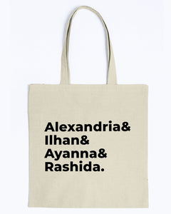 The Squad Canvas Tote-Accessories-plussizefor