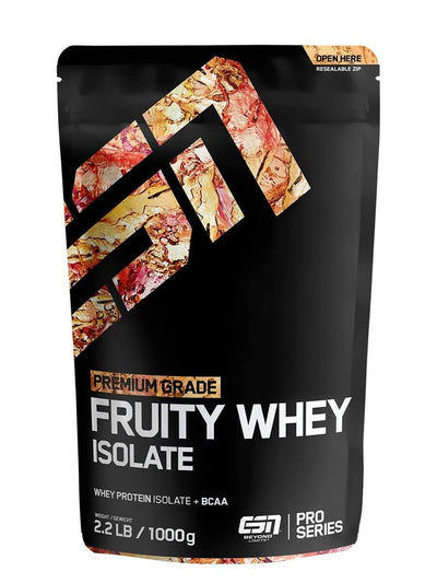 Beutel fruchtiges Whey Protein: Fruity Whey Isolate