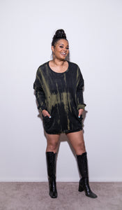All A Blurrrrr | Sweatshirt Dress