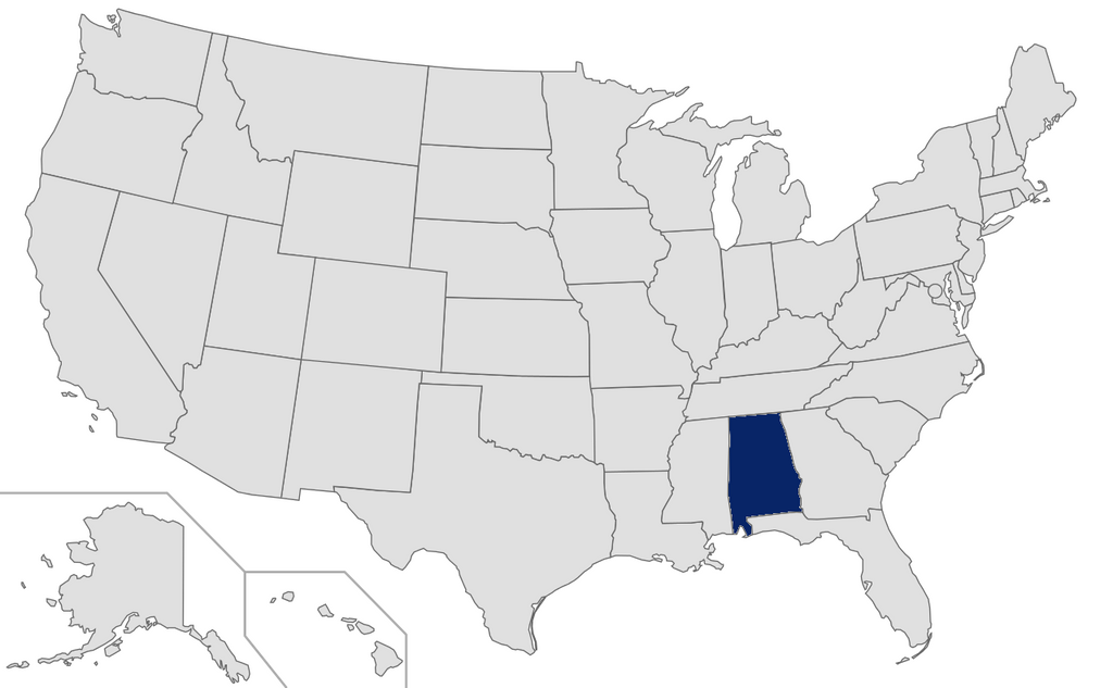 Alabama - Ranked 46th - 2015 Affluent & HNW Investor Market Sizing Extract