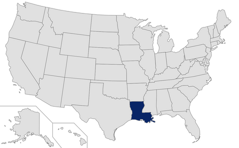 Louisiana - Ranked 40th - 2015 Affluent & HNW Investor Market Sizing Extract