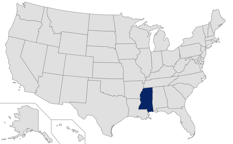 Mississippi - Ranked 51st - 2015 Affluent & HNW Investor Market Sizing Extract