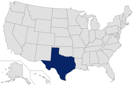 Texas - Ranked 25th - 2015 Affluent & HNW Investor Market Sizing Extract