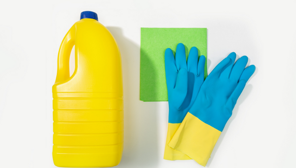 Easy cleaning by bleach is not so easy on the environment and the human body