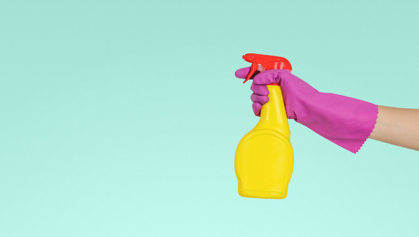 How harsh chemicals in cleaning products affect your hands and skin?