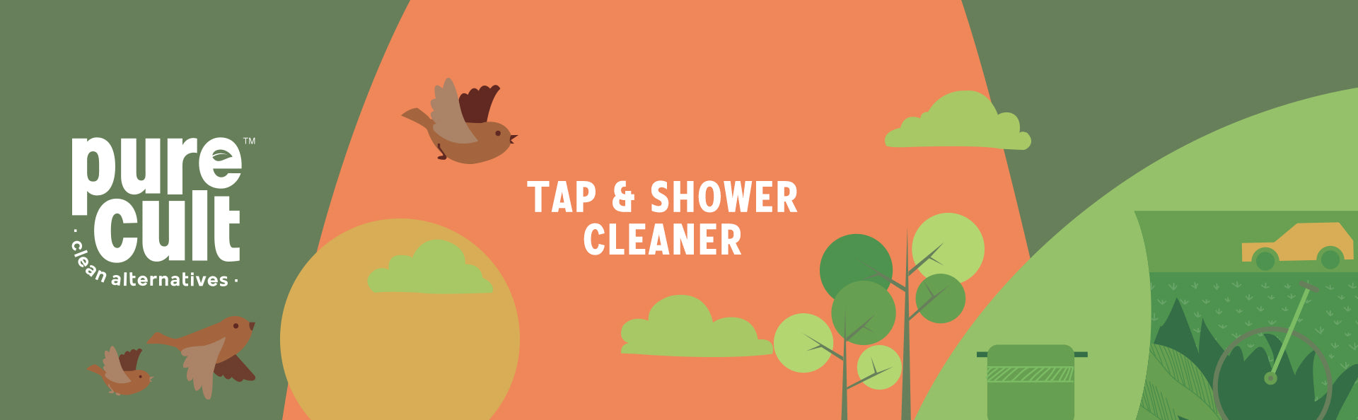 Pure Cult Tap And Shower Cleaner