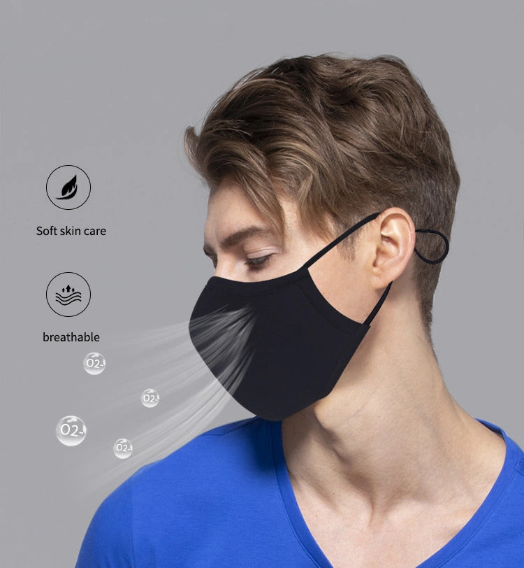 Washable 3 Layer Cotton Mask (Pack of 10)