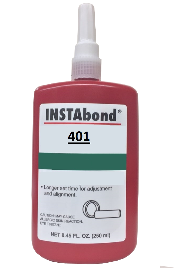 INSTAbond 401 Threadlocker Sealant GRADE AA 250 ML Green colour AN0111