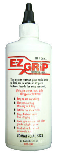 EZ GRIP COMMERCIAL GRADE FRICTION DROPS 3OZ BOTTLE