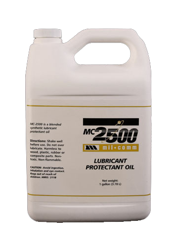 MC2500 1 Gallon Gun Oil and Lubricant Protectant