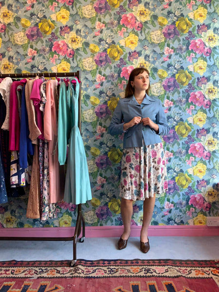 Discover Sky Inspired Vintage Clothing from Dress, in Bridport