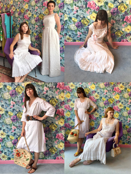 Lovely Vintage Mid Summer Style Dresses from Dress, in Bridport