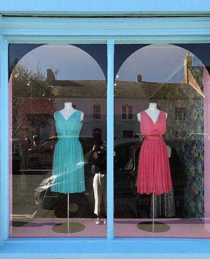 Dress, the Vintage Dress Shop in Bridport, this Spring