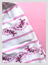 Load image into Gallery viewer, Cotton Pink & White Stripe w/ Bows from Dress