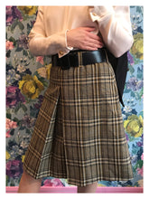 Load image into Gallery viewer, Prada Tweed Tartan Skirt