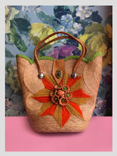 Load image into Gallery viewer, Woven Sunburst Handbag