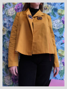 MARNI Mustard Yellow Jacket