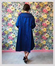 Load image into Gallery viewer, Hardy Amies Cerulean Opera Coat
