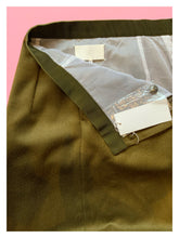 Load image into Gallery viewer, Maison Margiela Khaki Green Wool Skirt