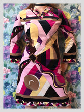 Load image into Gallery viewer, Emilio Pucci Kaleidoscope Velvet Dress