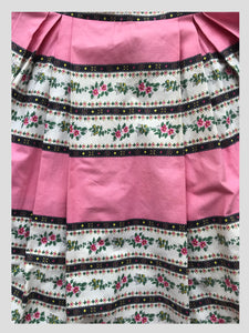 Horrockses Cotton Pink Day Dress