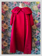 Load image into Gallery viewer, Penn Fifth Avenue Raspberry Opera Coat
