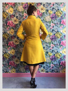 André Peters Canary Yellow Coat