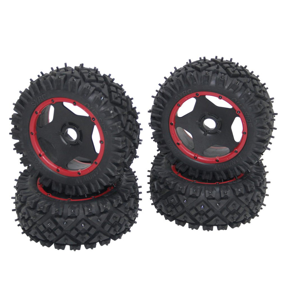 CINEGEAR Ice Tires - Red (2pcs)