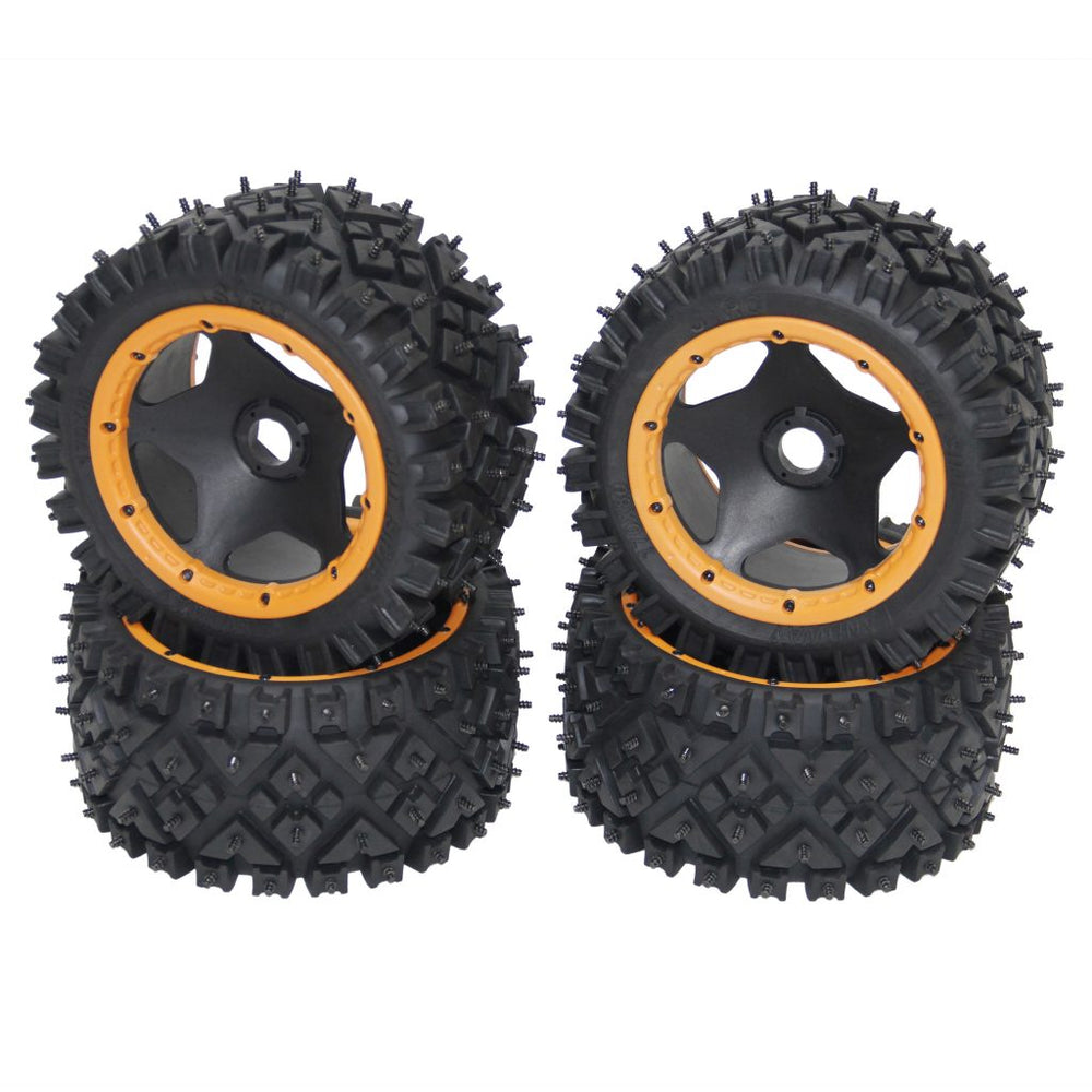 CINEGEAR Ice Tires - Yellow (2pcs)