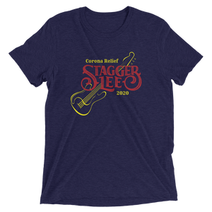 Stagger Lee Covid Support Unisex Triblend T-shirt