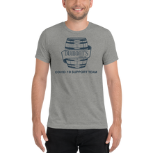Load image into Gallery viewer, Dumon't Down Low Covid Support Unisex Triblend T-shirt