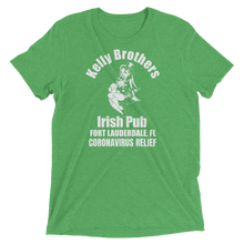 Load image into Gallery viewer, Kelly Brothers Irish Pub Coronavirus Relief Unisex Triblend T-shirt