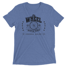 Load image into Gallery viewer, The Wheel Covid Support Unisex Triblend T-shirt
