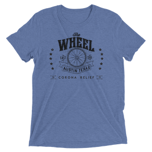 The Wheel Covid Support Unisex Triblend T-shirt