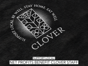 Clover Restaurant Covid Relief Unisex Triblend T-shirt
