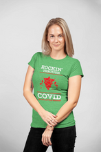 Load image into Gallery viewer, Lala's Little Nugget Covid Support Unisex Triblend T-shirt