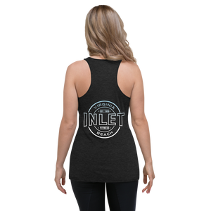 iNLeT Fitness Covid Support Soft Triblend Tank Top