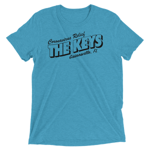 The Keys Grill & Piano Bar Covid Support Unisex Triblend T-shirt