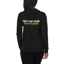 Load image into Gallery viewer, Vitti's Dance Studio Covid Relief Unisex Lightweight Zip Hoodie