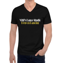 Load image into Gallery viewer, Vitti's Dance Studio Covid Relief Unisex Triblend T-shirt