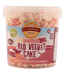 Red Velvet Cake: Who said you can't have cake and eat popcorn too?
